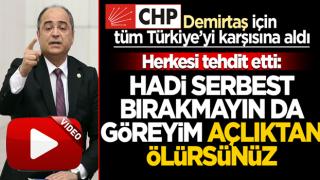 Demirtaş üzerinden tüm Türkiye'ye tehdit: Hadi bırakmayın bakalım ne oluyor