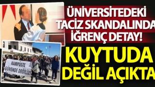 Ege Üniversitesi'ndeki skandalda yeni detaylar ortaya çıktı!