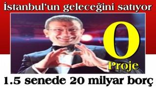 Ekrem, İstanbul'un geleceğini satıyor
