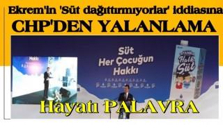 Ekrem'in 'Süt dağıttırmıyorlar' iddiasına CHP'li Subaşı'dan yalanlama