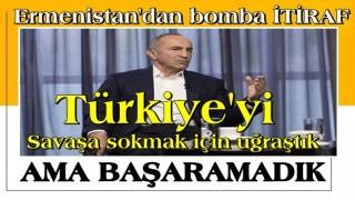 Ermenistan Eski Cumhurbaşkanı Koçaryan: Türkiye'yi doğrudan savaşa sokmak için uğraştık, başaramadık
