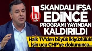 Halk TV CHP'deki tecavüz skandalını ifşa eden Barış Yarkadaş'ın programını kaldırdı