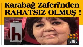 Halk TV sunucusu Ayşenur Arslan Karabağ zaferinden rahatsız oldu!