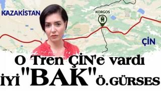 Halk TV sunucusu Özlem Gürses'in Halkalı'da durduğunu iddia ettiği ihracat treni Çin'e ulaştı!