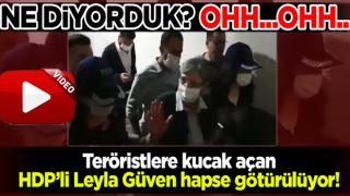 Hapis cezasına çarptırılan HDP'li Leyla Güven gözaltına alındı