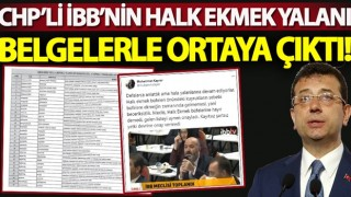 İBB'nin Halk Ekmek büfesi yalanının belgeleri!