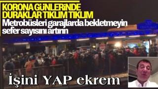 İstanbul'da trafik ve toplu taşımada yoğunluk