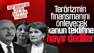 Meclis'te terörizmin finansmanını önleyecek teklife Millet İttifakı'ndan ret