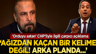 Mete Yarar'dan TSK'ya dil uzatan CHP'li vekille ilgili çarpıcı açıklama