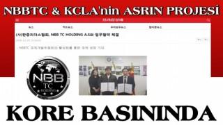 NBBTC & KCLA'nin Asrın Projesi KORE BASININDA..