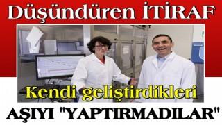 Şahin ile Türeci'den düşündüren itiraf: Kendi geliştirdikleri aşıyı yaptırmadılar!