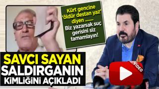 Savcı Sayan'ı ölümle tehdit eden saldırgan HDPKK'lı çıktı