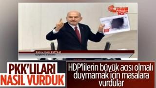 Süleyman Soylu operasyon anını anlattı, HDP'liler ses eylemine başladı