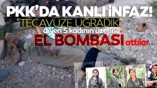 Tecavüze uğrayan 5 kadını el bombası ile öldürdüler!