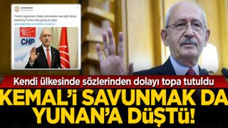 Türk gemisindeki aramayı savunan Kemal Kılıçdaroğlu, Yunan basınında destek buldu
