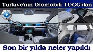 Türkiye'nin Otomobili TOGG'dan son bir yılda neler yapıldı paylaşımı