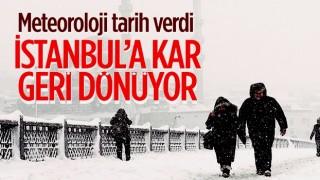 28 Ocak'ta İstanbul'da kar bekleniyor