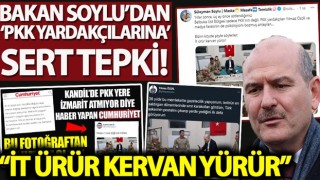 Bakan Soylu'dan Sözcü gazetesi yazarı Yılmaz Özdil ve Cumhuriyet Gazetesi'ne çok sert tepki!