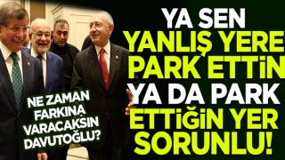 CHP ile aynı yolda yürüyen Ahmet Davutoğlu'ndan tutarsız 'darbe' tepkisi