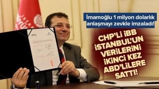 CHP'li İBB, İstanbul'un verilerini ikinci kez ABD'li bankaya sattı! .
