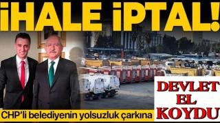CHP'li Mersin Büyükşehir Belediyesi'nin adrese teslim ihale iptal