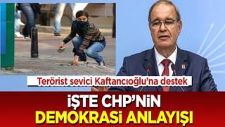 CHP'li Öztrak'tan terörist sevici Kaftancıoğlu'na destek: Demokrasi anlayışlarını gözler önüne serdi!