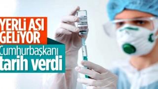 Cumhurbaşkanı Erdoğan: Aşılarımızı nisanda kullanıma hazır hale getireceğiz