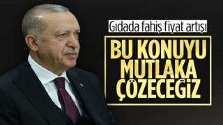 Cumhurbaşkanı Erdoğan'dan gıdada fahiş fiyat açıklaması