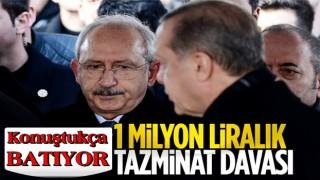 Cumhurbaşkanı Erdoğan'dan, Kemal Kılıçdaroğlu'na dava