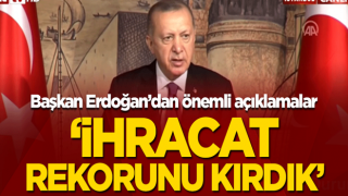DEİK üyeleri ile toplantı! Başkan Erdoğan bütçe uygulama sonuçlarını açıkladı.