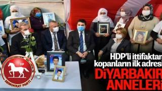DP Genel Başkanı Gültekin Uysal'dan Diyarbakır annelerine ziyaret