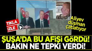 Erdoğan'la fotoğrafını gösteren Aliyev: İki gardaş!
