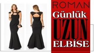Günlük Uzun Elbise Modelleri