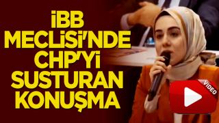 İBB Meclisi'nde CHP'yi susturan konuşma