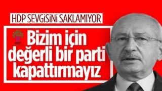 Kemal Kılıçdaroğlu: HDP'nin kapatılması doğru değil