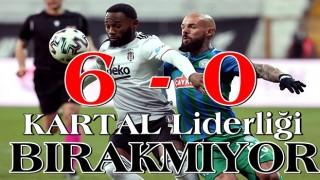 Larin coştu, Beşiktaş liderliğini sürdürdü