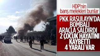 Rasulayn'daki bombalı saldırıda 2 çocuk öldü, 4 kişi yaralandı