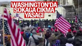 Washington'da sokağa çıkma yasağı ilan edildi