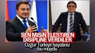 Ali Babacan'ı eleştiren DEVA Partisi kurucularından Musa Malik Yıldırım'a disiplin soruşturması