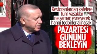 Cumhurbaşkanı Erdoğan: Esneme kararını Kabine Toplantısı'ndan sonra açıklayacağım