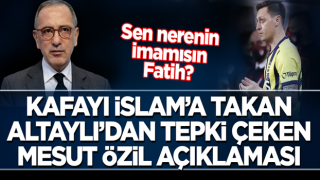 Fatih Altaylı'dan tepki çeken Mesut Özil paylaşımı