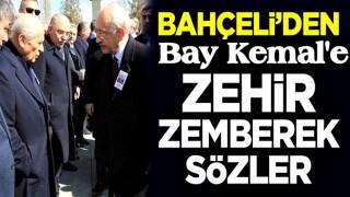 MHP lideri Devlet Bahçeli'den CHP Genel Başkanı Kemal Kılıçdaroğlu'na zehir zemberek sözler