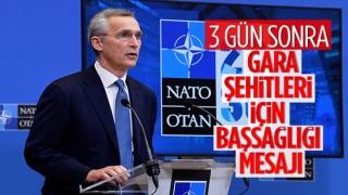 NATO Genel Sekreteri Türkiye'ye başsağlığı diledi