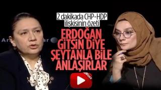 Oya Eronat: Erdoğan gitsin diye şeytanla bile anlaşırlar