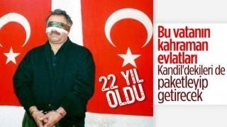 Terörist başı Öcalan'ın yakalanmasının üzerinden 22 yıl geçti