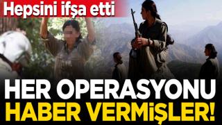 Teslim olan teröristler PKK destekçilerini ifşa etti: Her operasyonu haber verdiler