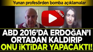 Yunan profesörden bomba iddia: ABD Erdoğan'ı devirip 'Dişi Kurdu' iktidar yapacaktı!