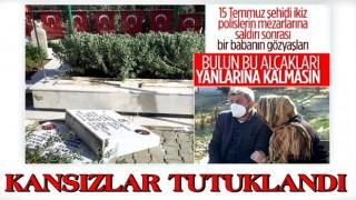 Adana'da şehit mezarlarına zarar veren 5 kişi tutuklandı