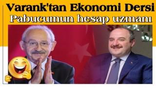 Bakan Varank'tan Kılıçdaroğlu'na ekonomi dersi: Pabucumun hesap uzmanı