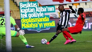 Beşiktaş, Atiba'nın klas golüyle Yeni Malatya'yı mağlup etti